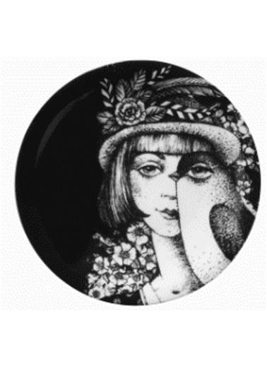 Kütahya Porselen Kadınlarım Serisi 21 cm Servis Tabağı 885179 Renkli